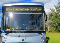 עצומה להפעלת קו האוטובוס בין עפולה למכללת אורט בראודה - כרמיאל